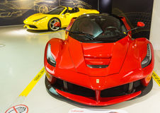 Museum Enzo Ferrari. Exhibition hall of sport cars Ferrari Royalty Free Stock Photos