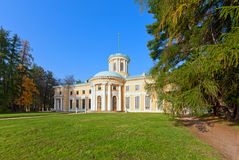 Museum-Estate of Arkhangelskoye. Grand Palace. Royalty Free Stock Images