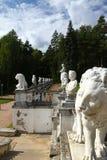 Museum-Estate Arkhangelskoye. Sculptures Big parterre. Russia Royalty Free Stock Images