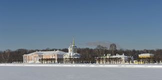 Museum-estate of Count Sheremetev  Royalty Free Stock Photography
