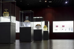 Museum exhibition Stock Images