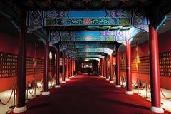 Museum exhibition hall stock photo