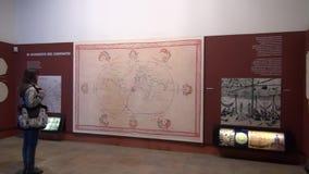 Museum Exhibits, Artwork, Culture. Stock video of musem exhibits stock video footage