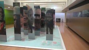 Museum Exhibits, Artwork, Culture. Stock video about musems and exhibits stock video footage