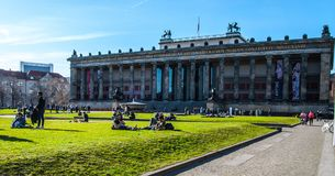 Museum för Das Alte royaltyfri fotografi
