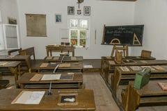 Museum för gammal skola Royaltyfri Bild