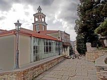 Museum för lokal historia i Sighnaghi, Georgia fotografering för bildbyråer