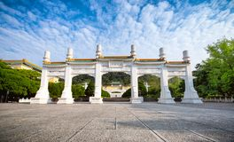 Museum för nationell slott för Gu Gong Royaltyfri Fotografi