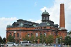 Museum för offentliga arbeten i Baltimore den inre hamnen Arkivbild