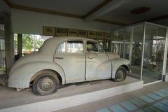 MUSEUM FÖR THAILAND KANCHANABURI VÄRLDSKRIG 2 Arkivbild