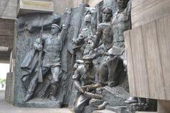 Museum för världskrig II Arkivbild