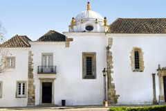 Museum of Faro. View of the facade of the Museum of Faro, located in Portugal royalty free stock image