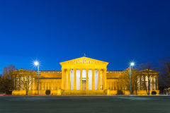Museum of Fine Arts at blue hour - Budapest, Hungary Stock Image