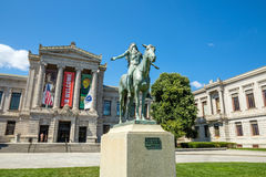 Museum of Fine Arts, Boston Stock Photo
