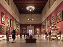 Museum of Fine Arts Boston. Interior of  Museum of Fine Arts Boston, Massachusetts United state Royalty Free Stock Images