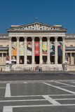 The museum of fine arts in Budapest Stock Photography