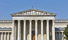 Museum of Fine Arts facade in Budapest, Hungary Stock Photos