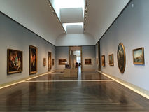 Museum of fine arts  Houston interior Royalty Free Stock Image