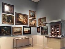 Museum of fine arts  Houston interior Stock Image