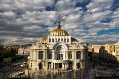 Museum of fine arts in Mexico city Palacio Del Bellas Artes DF Royalty Free Stock Image