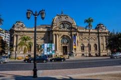 Museum of Fine Arts, Santiago, Chile Stock Photos