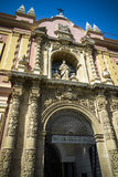 Museum of Fine arts of Seville in Andalusia Stock Photography