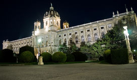 Museum of fine arts from Vienna. Austrian capital Stock Photography