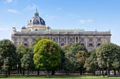 Museum fine arts, Vienna, Austria Royalty Free Stock Images