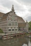 Museum Flehite in der Stadt von Amersfoort stockbilder