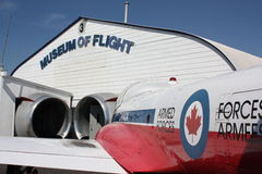 Museum of Flight Royalty Free Stock Photography