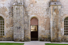 Museum at Fontenay Abbey Royalty Free Stock Photography