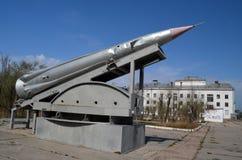 Museum of former Soviet anti-ballistic missile testing range Sary Shagan. Stock Photography