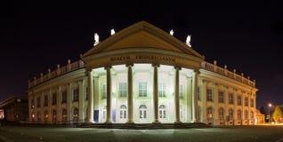 Museum fridericanum kassel germany at night high definition pano Stock Photos
