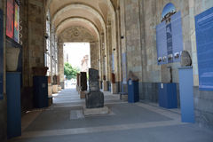Museum gallery. (to the left from the entrance) of History museum of Armenia, Erevan Stock Photography