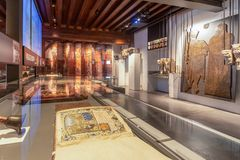 Museum at Ghent interior royalty free stock images