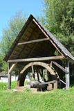 Museum of the gold mine  Rosia Montana, Apuseni Mountains, Transylvania. Rosia Montana is a commune of Alba County in the Apuseni Mountains of western Stock Photography