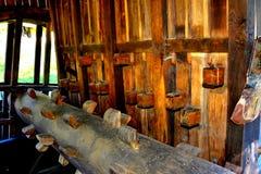 Museum of the gold mine  Rosia Montana, Apuseni Mountains, Transylvania Royalty Free Stock Photography