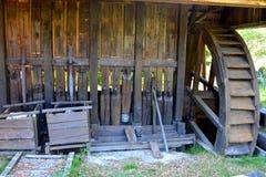 Museum of the gold mine Rosia Montana, Apuseni Mountains, Transylvania Stock Photo