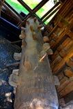 Museum of the gold mine Rosia Montana, Apuseni Mountains, Transylvania Stock Images