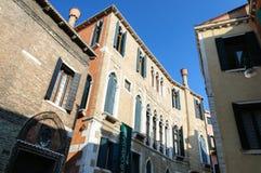 Museum Goldoni i Venedig Royaltyfri Bild