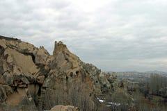 Museum Goreme för öppen luft i Cappadocia Royaltyfria Foton
