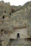 Museum Goreme för öppen luft i Cappadocia Arkivbild