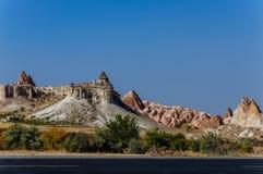 Museum Goreme för öppen luft, Kapadokya, Turkiet Royaltyfria Foton
