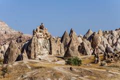 Museum Goreme för öppen luft, Kapadokya, Turkiet Fotografering för Bildbyråer