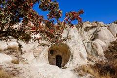 Museum Goreme för öppen luft, Kapadokya, Turkiet Arkivfoton