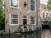 Museum Gouda behind church, Holland Royalty Free Stock Image