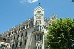 Jugendstil Architecture Majorca Stock Images