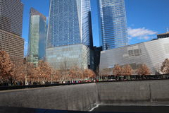 911 Museum - Ground Zero Memorial Royalty Free Stock Images