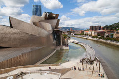 Museum Guggenheim Bilbao Stock Photos