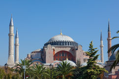 The museum Hagia Sophia in Istanbul Turkey Stock Image